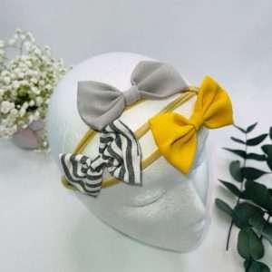 3 pk cotton blend headbands
