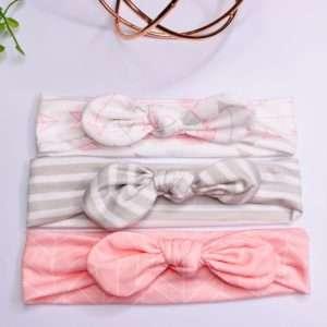 3pk cotton headbands